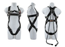 2 Point Elasticated Safety Harness + Rescue Step + Twin Tails